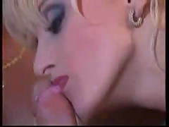 Vintage blonde whore anally penetrated