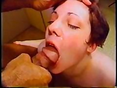 Bbw Brunette Katheryn Marie Blows Him, Gets Drilled And Gets A Mouthful
