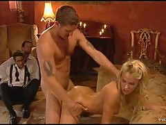 Fucking The Gorgeous Blonde Jodie Moore And Her Wet Pussy