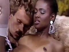 Hot Ebony Gets Drilled And Jacks Him Off In Classic Porn Movie