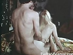 Retrol Porn 1970s Hairy Blonde Teen Can't Get Enough