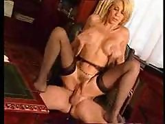 Licentious Mami With A Dulcet Tonton, Milly D'abbraccio, Gets A Hose In The Bum