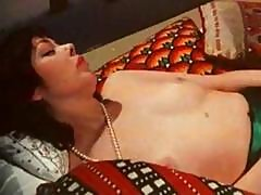 1970's Classic German Porn Action With A Brunette Getting Drilled In Her Furry Muff