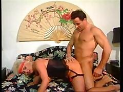 Vintage Hardcore Action With A Trio Of Slutty German Bitches Getting Drilled