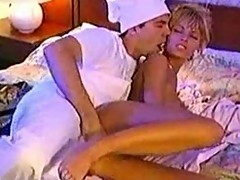 Anita Blonde fucking the hotels cook