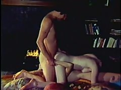Super Hot Redhead Lesbians Suck Cock and Get Fucked in a Wild Retro Threesome