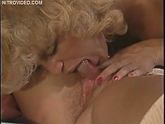 Vintage Threesome Cumshot