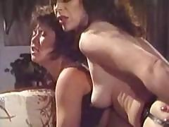 Classic Porn With Brunettes Getting Drilled Hard On The Couch