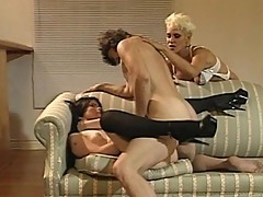 Hermaphrodite joins a hot threesome