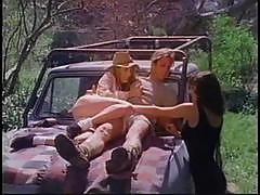Vintage Threesome Action With Kelly O'dell, Summer Knight And Nick Rage