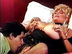 Blonde slut with big tits fucks guy