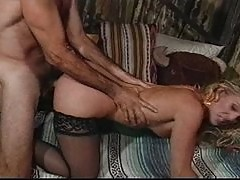 Horny husband fucks his attractive wife