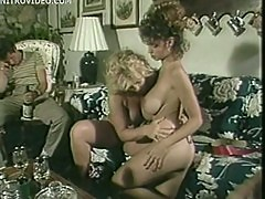 Christy Canyon Licks Some Pussy