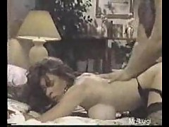 Christy Canyon and Ron Jeremy