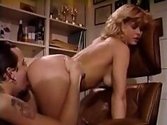 Horny Young Blonde, K.c. Williams Sucks A Cock And Rides It Like A Cowgirl