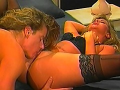 Sexy P.J. Sparxx gets slit licked by dude