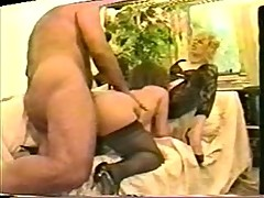 Deb & brunette in 3some with Ron Jeremy