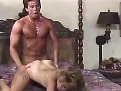 Classic 80s Porn With Blonde Sheena Horne Fucking Peter North
